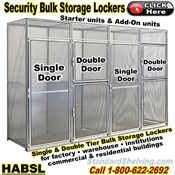 HABSL / See-Thru Security Bulk Storage Locker