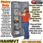 HAHMVT / See-Thru Security Tool Locker