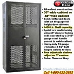 HAHW4VSC / See-Thru Vented Security Storage Cabinet