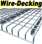 WIRE DECKING FOR PALLET RACKS, QUICK SHIP WIRE DECKING
