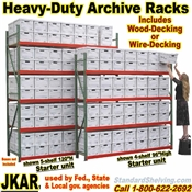 Extra Heavy-Duty Archive Shelving / JKAR
