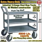 JMLL / Extra Heavy Duty 3-Shelf Service Truck
