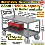 JMSS / Heavy Duty 2-Shelf Service Cart