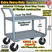 JMSW / Extra Heavy Duty 2-Shelf Service Truck