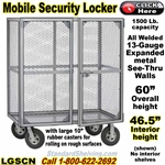LGSCN / Security Storage Job Site Locker