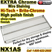 Chrome Wire Shelves / NX1AS