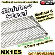 Stainless Steel Wire Shelves / NX1ES