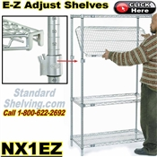 E-Z Adjustable Wire Shelves / NX1EZ