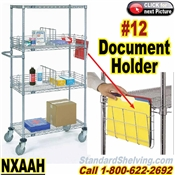Document Holder for Wire Shelves / NXAH11