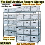 Wire Shelving Archive Storage  / NXARWS