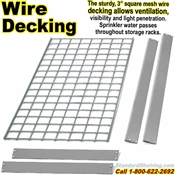 EXTRA Wire-Deck Rivet Shelves / NXRLXWREL