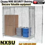 NXSU / Security Wire Shelving