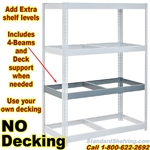 Extra NO-DECK Rivet Shelves / NXW001EL