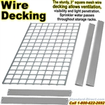 EXTRA Wire-Deck Rivet Shelves / NXWR01EL
