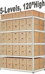 ARCHIVE RECORD STORAGE DOUBLE-RIVET SHELVING (S1A16)