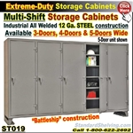 ST019 / Mult-Shift Storage Cabinets