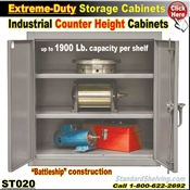 ST020 / Extreme-Duty Counter Height Storage Cabinets