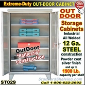 ST029 / Extreme Duty OUT-DOOR Storage Cabinet