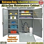 ST119 / Extreme Duty Janitorial & Maintenance Cabinet
