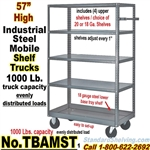 Steel 5-Shelf Trucks / TBAMST