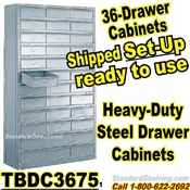 36-Drawer Steel Parts Cabinets / TBDC3675