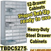 52-Drawer Steel Parts Cabinets / TBDC5275