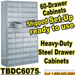 60-Drawer Steel Parts Cabinets / TBDC6075