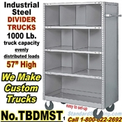 Steel Shelf Divider Trucks / TBDMST
