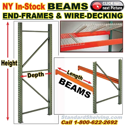 Pallet Racks IN-STOCK (NY Warehouse) / TBPRNY