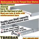 Reinforcement Bars for Steel Flange Shelves / TBREBAR