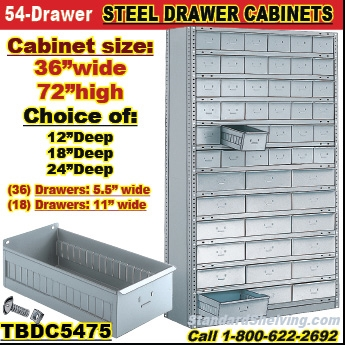 Drawer Cabinets For Small Parts In Warehouse Factory - Parts cabinets