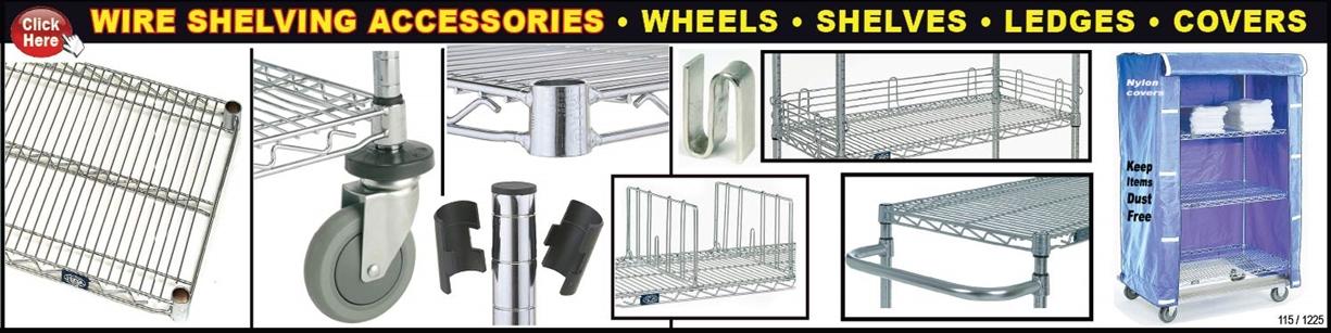 Wire Shelving | Standard Shelving