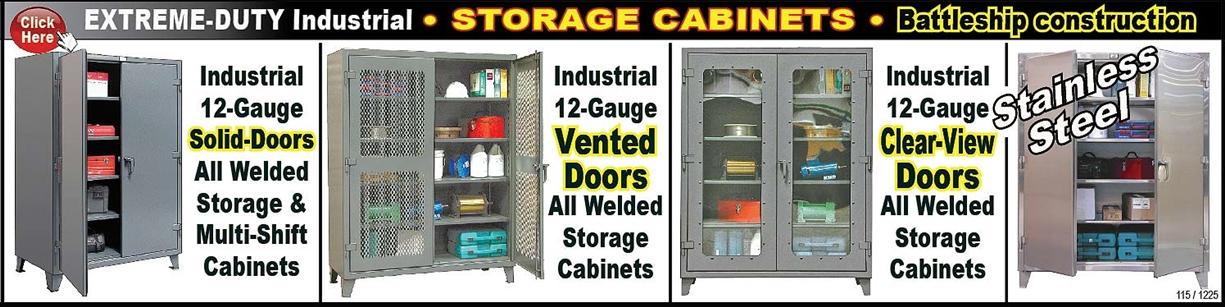 industrial storage cabinet with doors. (125) Heavy-Duty Industrial All Welded Extreme-Duty Storage Cabinets Industrial Storage Cabinet With Doors