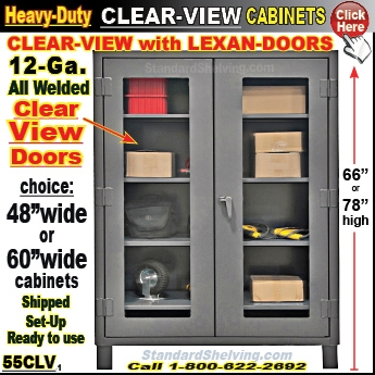 (147) 66SSLSD / Extra Heavy Duty Steel Storage Cabinets ...