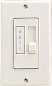 Quorum Ceiling Fan Wall Control 7-1191-6