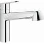 Grohe Starlight Chrome Pull Out Kitchen Faucet 32170000
