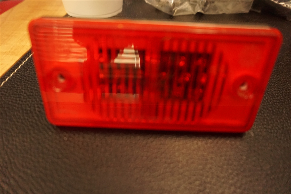 Kaper II L14-0059R Red LED Marker//Clearance Light