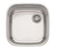 "Franke GNX11016 Europro 16 7/8"" x 16 7/8"" x 7 7/8"" 20 Gauge Undermount Single Bowl Stainless Steel Kitchen Sink."