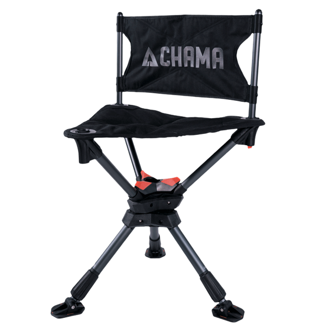 CHAMA CHAIR & TRAVEL BAG - BLACK