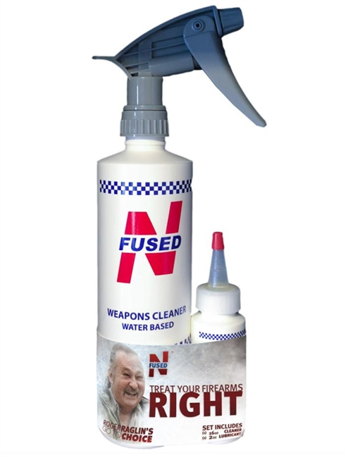 Roger Raglin NFUSED® Weapons Cleaner/Lubricant Set - 16oz & 2oz