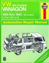 Haynes 96045 Volkswagen Air-Cooled Vanagon Repair Manual for 1980 thru 1983 Models