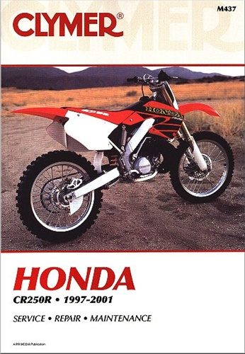 honda cr250 manual