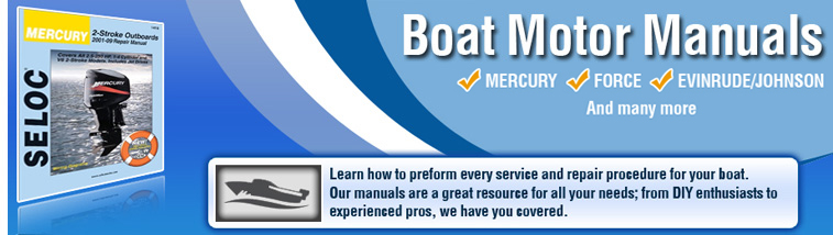 Boat Manual | Boat Motor Manuals | Repair| Wiring Diagrams