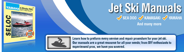 Jet Ski Manual | Repair | Service | Shop | Manuals