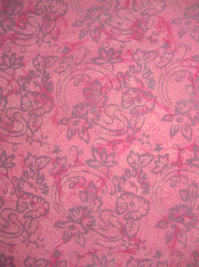 Fancy Soft Pink With Light Purple Pattern