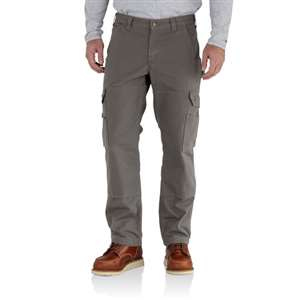Carhartt Men's Ripstop Flannel-Lined Cargo Work Pants