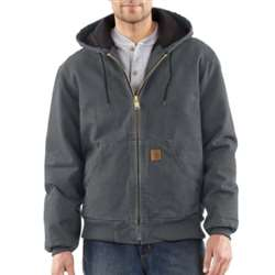 Carhartt Men's Sandstone Active Quilted Flannel Lined Jacket