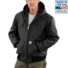 Carhartt Men's Duck Active Quilted-Flannel Lined Jacket