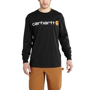 Carhartt Men's Long Sleeve Logo T-Shirt