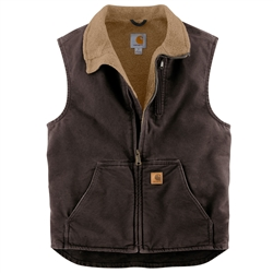Carhartt Men's Sandstone Mock-Neck Vest